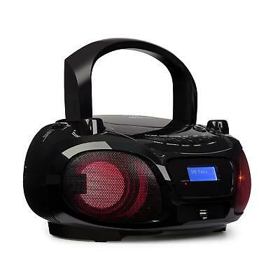 Mini chaine Boombox Lecteur CD portable Radio internet DAB Tuner FM Bluetooth
