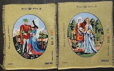 Set of 2 Costumes in 16 Century; Handmade Tapestry, Completely Finished by Me
