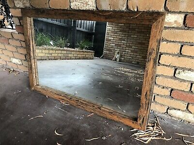 AGED TIMBER MIRROR - SUPERB CAFE MIRROR 1280x760