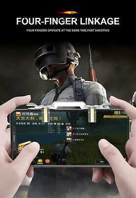 PUBG Mobile Cell Phone Game Controller Fire Button Key Gamepad Shooter Trigger X