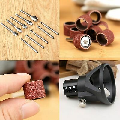 22pcs Grinder Accessories Grinding Polishing Carving Drill Bits Rotary Tool Kit