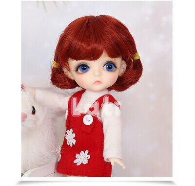 1/8 Handmade Resin BJD MSD Lifelike Doll Joint Dolls Women Girl Gift  Lati  6""