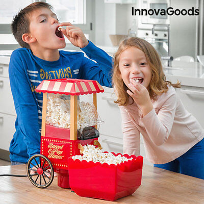 Innovagoods Sweet & Pop Times Machine A Popcorn 1200 W Rouge