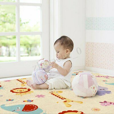 Non-Slip Baby Carpet Game Play Mat Foam Puzzle Pad Child Crawling Blanket 1.8M
