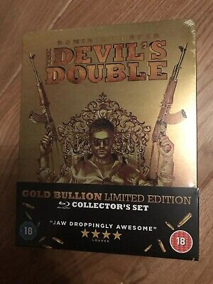 The Devils Double Blu-Ray Hmv Exclusive Steelbook New & Sealed
