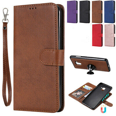 For Samsung S10 Plus Case S10e Detachable Leather Magnetic Wallet Stand Cover