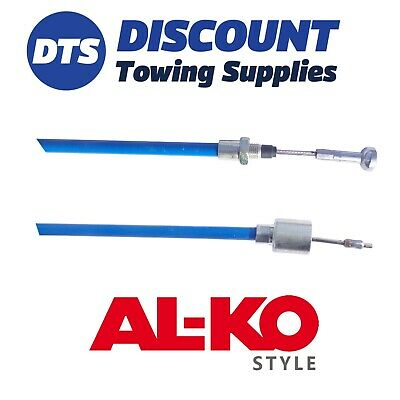 Stainless Steel Trailer Brake Cable For ALKO AL-KO Axles Outer Sheath 1130mm