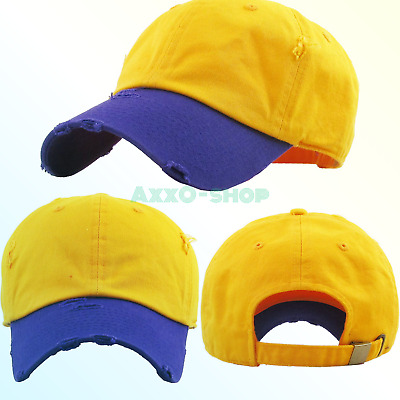 87f210c262e KBETHOS Vintage Washed Distressed Cotton Dad Hat Baseball Cap Adjustable  Polo.