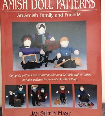 Amish Doll Patterns by Jan Steffy Mast