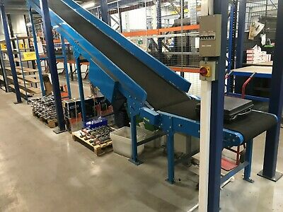 Mezzanine Floor Conveyor, £2000 + VAT + Ebay + Paypal fees