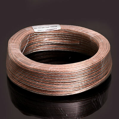 150ft 10 GA AWG Full Gauge Parallel Speaker Wire Cable OFC Oxygen Free Copper
