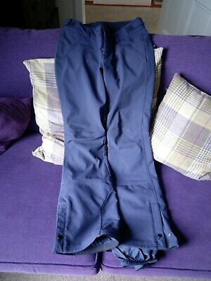 56369b29cf O neill Ladies Ski Trousers - Size skinny small 6 -8 Blue nice condition