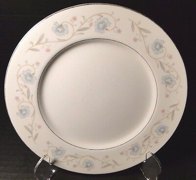 "Fine China of Japan English Garden 1221 Bread Plate 6 1/4"" EXCELLENT"