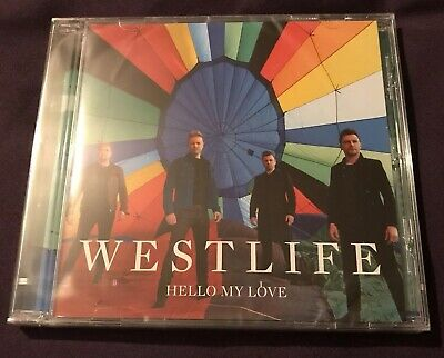 Westlife Hello My Love 2019 Official CD With 2 Tracks