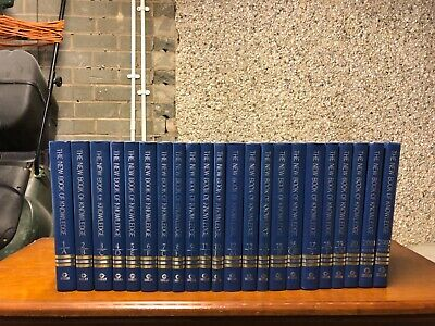 Grolier The New Book of Knowledge A-Z Full Set of Encyclopedias