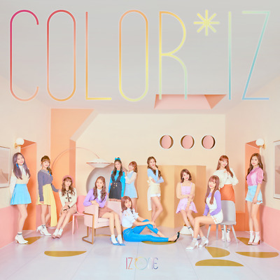 (POSTER)IZONE [COLOR*IZ] 1st Mini Album CD+Photo Book+Photo Card K-POP SEALED