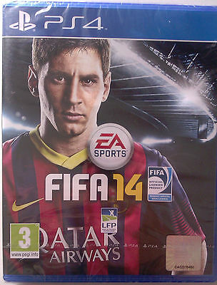 "JEU PS4 ""FIFA 14"" (Football) EA Sports-Electronic Arts NEUF SOUS BLISTER"