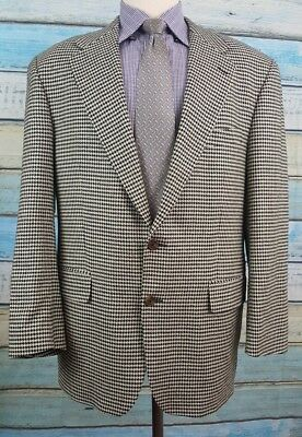 Ralph Lauren Polo University Club 44R Silk 2 Button Single Breasted  Sport Coat