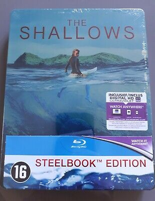 Blu ray steelbook The Shallows Neuf avec VF