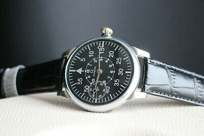 OMEGA Vintage 1930`s AIR FORCES B-Dial MILITARY PILOT Men`s Swiss Wrist Watch