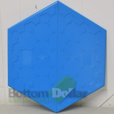 Hexboards Gaming Board For Official Settlers Of Catan Board Plastic 3-4 Players