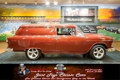 1955 Other -- Chevrolet Sedan Delivery Burgundy Metallic with 2,000 Miles, for sale!