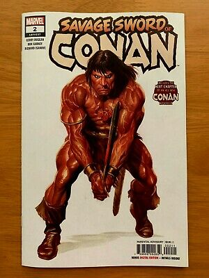 Savage Sword of Conan #2 Alex Ross Main Cover A 1st Print Marvel 2019 NM+ 2/27