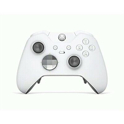 Xbox Elite Wireless Controller Special Edition White  -  Wireless - Xbox One exc