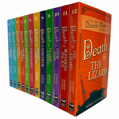 Robin Paige Victorian Mystery Series Collection 12 Books Set Death on the Lizard