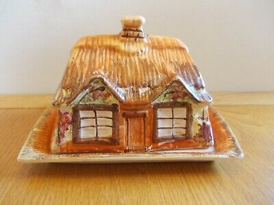 Price Bros cottage ware butter/cheese dish Reg No 845067