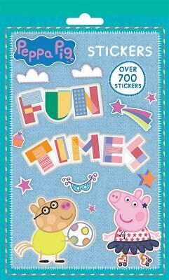 700 Peppa Pig Stickers Book Fun Time Picture Sheets TV Character Movie George
