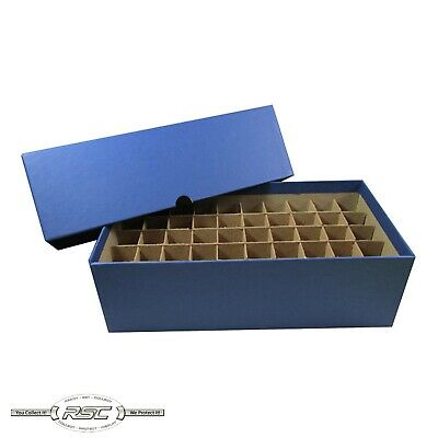 Coin Tube Storage Box by Guardhouse - Holds 50 Rolls or Tubes of Nickels