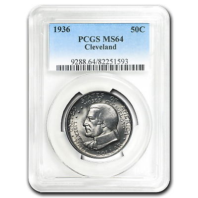 1936 Cleveland/Great Lakes Half Dollar MS-64 PCGS - SKU #51469