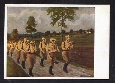 1940, postcard, card from III.german empire, 3rd reich, original, used