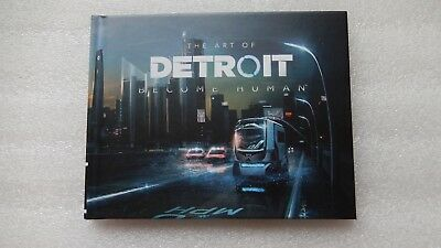 Detroit: Become Human PS4 Artbook - The Art of Detroit Become Human Art Book PS4