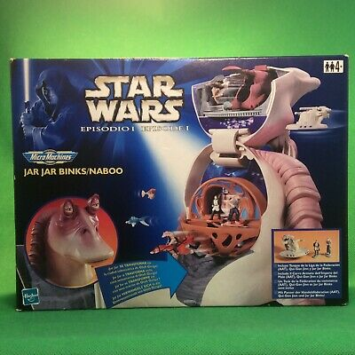 Star Wars™ Micromachines Jar Jar Binks Kopf Galoob Toys 1998   Rarität #2#300