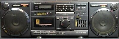 Vintage Panasonic XBS RX-DS660 Boombox Stereo AM/FM Radio CD Tape Cassette