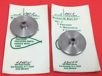 WILFRED M.BERG,Inc.- P/N: CNl-5 - Stainless Steel Sprocket - Lot of (2) - NEW