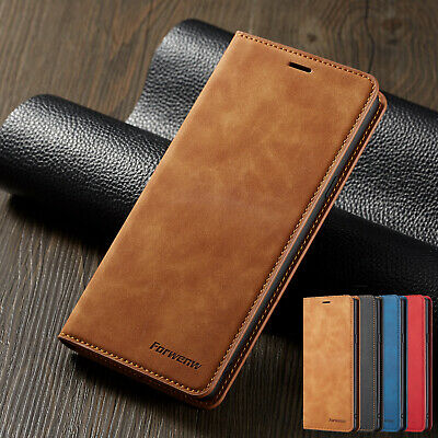 For Samsung Galaxy S10 Plus Case S10e Leather Flip Card Holder Stand Case Cover