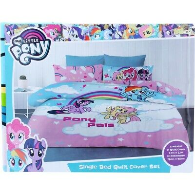 My Little Pony Quilt Cover Set - Multi