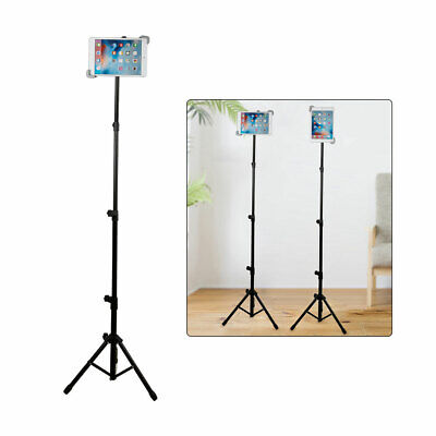 Universal Tripod Tablet Floor Stand Adjustable Holder for iPad mini Air Pro 11''