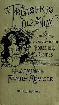 160 Vintage Recipe Books On Dvd - Cookery Pharmacy Medicine Cures Herbs Clothing