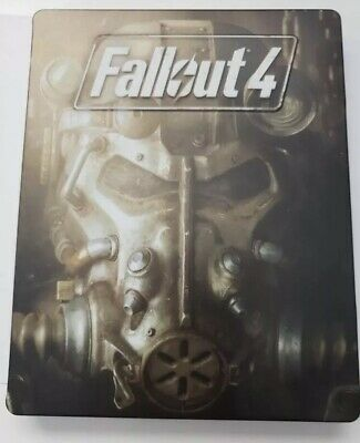 Fallout 4 (Sony PlayStation 4, 2015) Steelbook Rd!