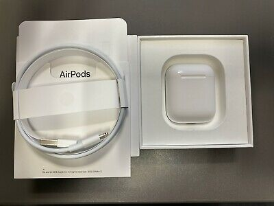 New Genuine Apple Airpods Charging Charger Case Cube Oem Replacement Mmef2Am/a