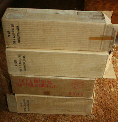 Gilbert AMERICAN FLYER TRAINS Empty Box Lot - End Flaps Intact