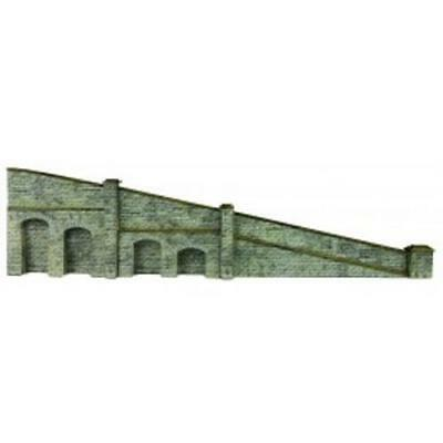 N Gauge N14 N-Scale Stone Lineside retaining walling Mould
