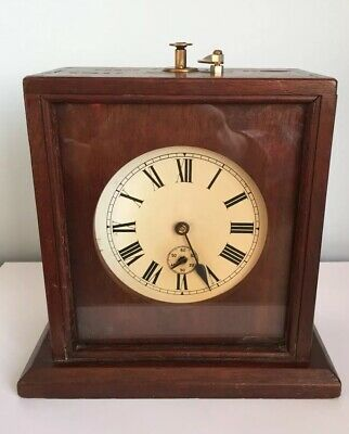 Unusual Antique Victorian/early 20th Century Scratch Built Project Timer Clock