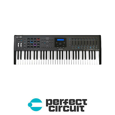 Arturia Keylab 61 MkII Black MIDI Keyboard CONTROLLER - NEW - PERFECT CIRCUIT