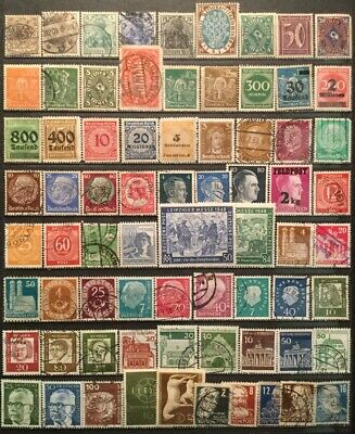 Germany - Small Lot Of Old Stamps