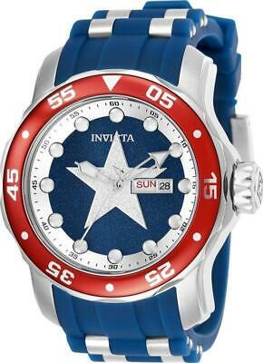 Invicta Marvel Limited Edition Captain America Pro Diver Watch 25703 48 mm